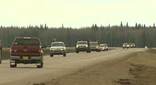 The province has announced they have completed improvements on a section of Highway 63 at Wandering River.