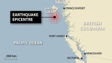 7.7-magnitude quake rattles B.C.