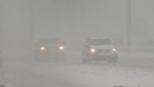 Winter, Edmonton