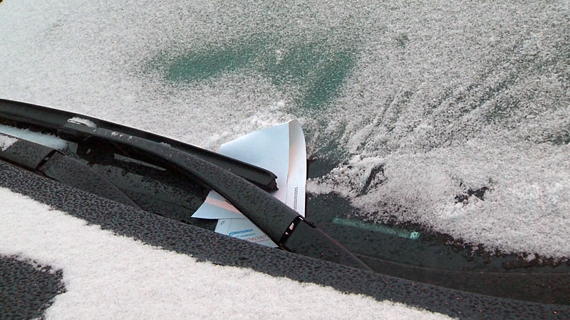 Edmontonians can expect parking tickets if their vehicles aren't moved when a seasonal parking ban is in effect.