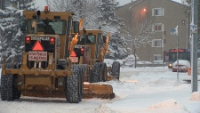 Snow clearing, Edmonton