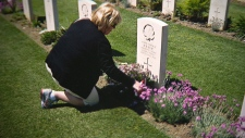 Bev Embury, World War II, Remembrance Day
