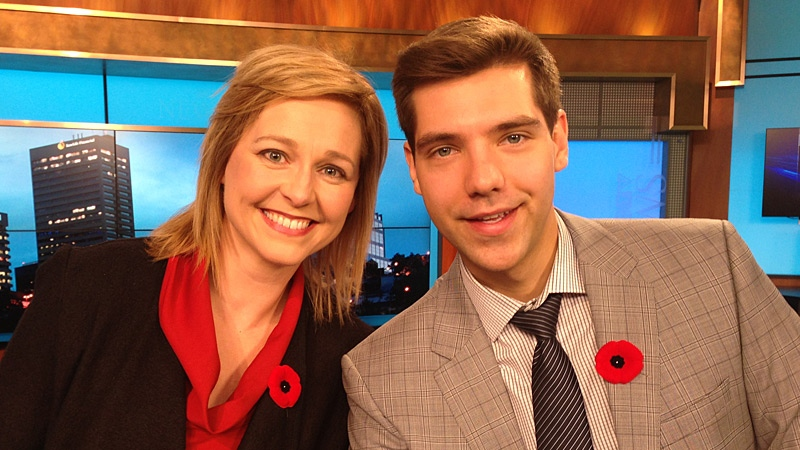 CTV Morning Live's newest additions Stacey Brotzel & Jesse Beyer make their on-air debut on Nov. 12.
