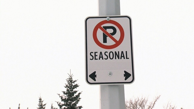 Seasonal Parking Ban