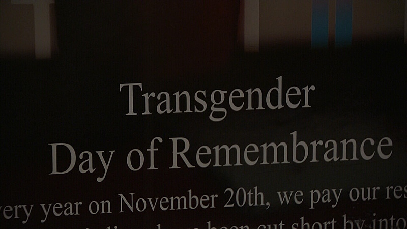 Transgender Day of Remembrance is officially marked on November 20, but Edmontonians gathered Saturday to honour those killed last year due to transphobic violence.