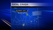 Fatal collision, Highway 63