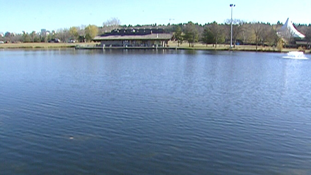 City council will vote on whether to spend $100,000, to analyze the lake in Hawrelak Park - on ways to upgrade the lake ahead of a possible bid for the International Triathlon Union Grand Final in 2014. File.