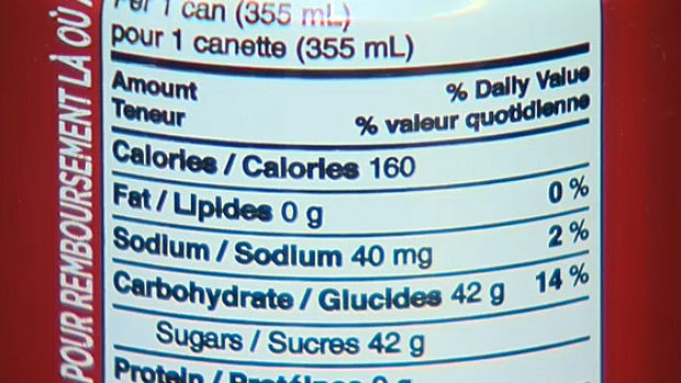 A new study says Albertans drink more than one litre of pop per person, per day - which means the province has the highest percentage of people in the country who consume sugar-sweetened beverages.