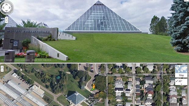 Google Street View Panoramic showcases Edmonton