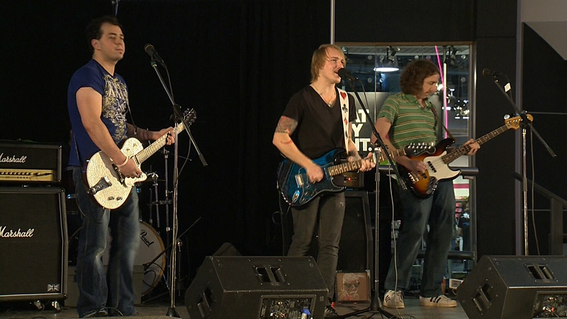 A local organization has launched a 12-day campaign aimed at promoting inclusive hiring and helping Edmontonians with disabilities find jobs. Twelve bands playing 12-minute sets helped kick off the campaign Saturday.