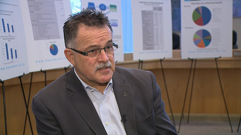 Beaumont Mayor Camille Bérubé says the town has been proactive in their approach to address space shortage. Beaumont currently sits on 21 quarters of land. It's put forth a proposal to annex 24 quarters from the County of Leduc.