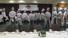 NAIT culinary students competition