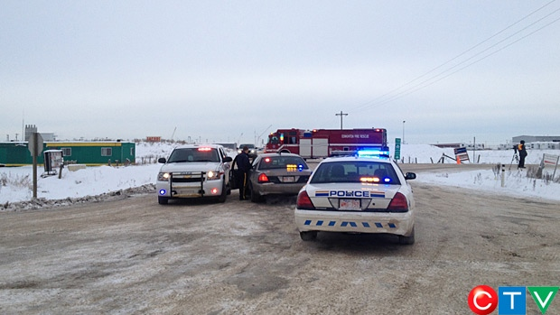 Emergency crews are on the scene of a chemical spill that happened Sunday morning.