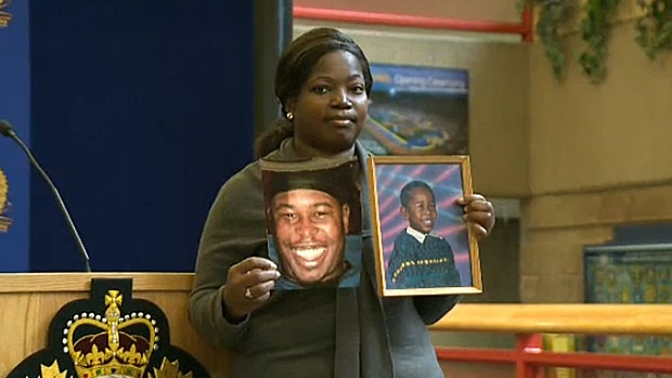 Paulette Brown, the mother of Edmonton's 25th homicide victim, is asking witnesses to come forward to help investigators solve the case.