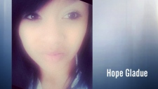 Hope Gladue, 13.