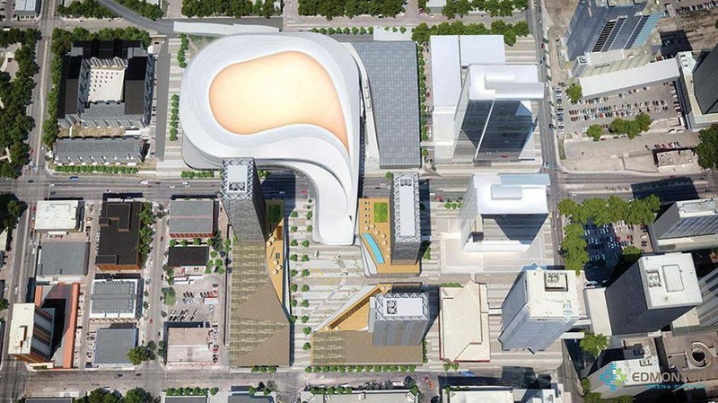 New downtown arena designs released on Wednesday, Dec. 12, 2012. The Katz Group has requested council vote to resume arena negotiations and extend the deadline to April 30.