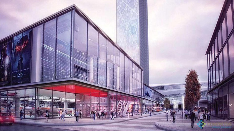 New downtown arena shopping district design released on Wednesday, Dec. 12, 2012. The Katz Group has requested council vote to resume arena negotiations and extend the deadline to April 30.