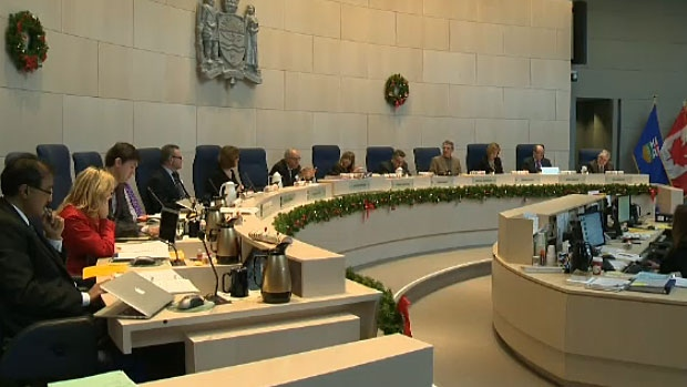 City councillors hear from the Katz Group, who requested arena negotiations resume, on Dec. 12, 2012.