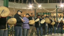 Flash mob Idle No More