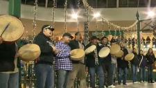 Flash mob Idle No More