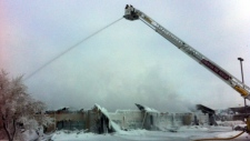 Edmonton fire Dec. 25