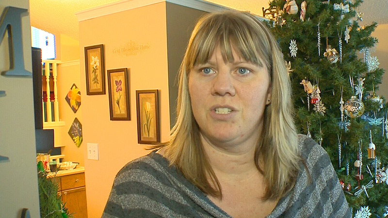 Michelle Kuczkowski is gathering donations for a Spruce Grove family who lost their home in a fire overnight.