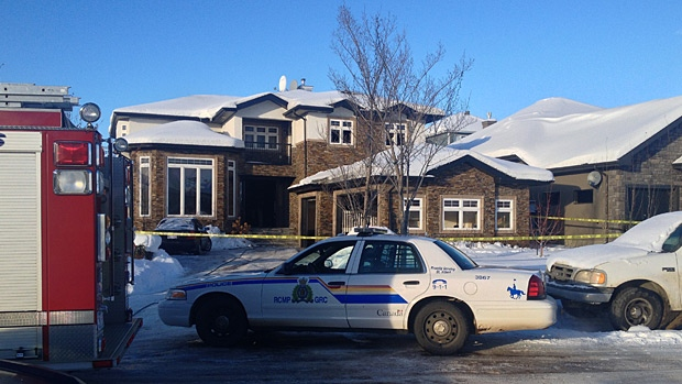 Police are investigating after a house fire in St. Albert's Oak Point subdivision early Saturday morning.