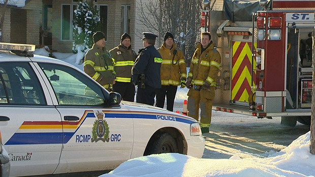 RCMP and St. Albert fire crews are working together to investigate a suspicious fire in St. Albert.