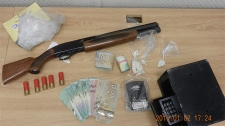 Drug and firearms bust