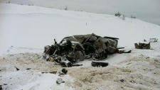 Fatal crash Highway 881