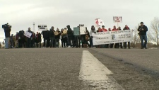Idle No More Highway Blockade