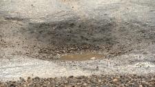 Edmonton Pothole