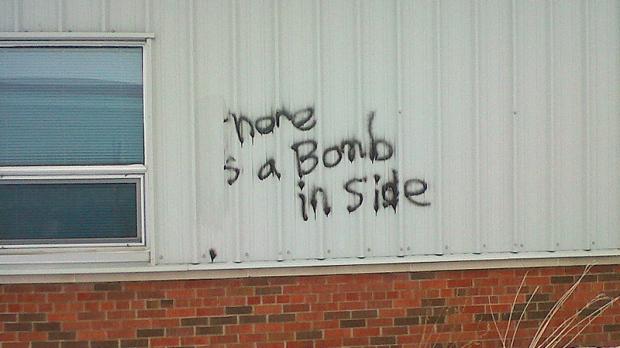Lacombe bomb threat