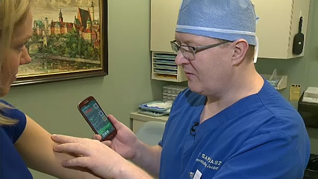 A local dermatologist is warning that certain health apps that suggest they can analyze skin lesions and detect skin cancer may hurt more than it helps.
