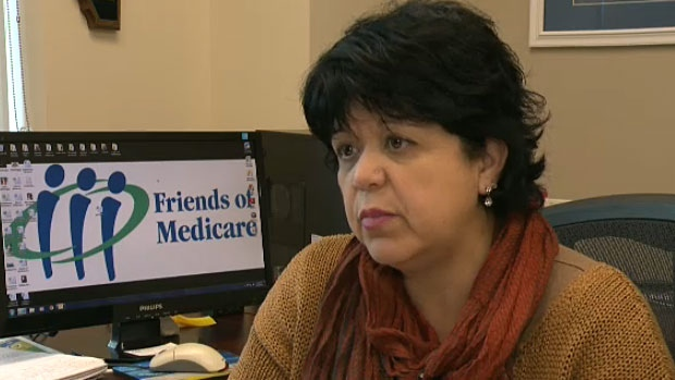 Sandra Azocar with Friends of Medicine says the closure of the transition centre at the Royal Alex is concerning and that long-term care continues to be an issue in the province.