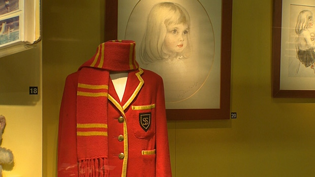 An exhibit at the West Edmonton Mall gives a glimpse into the life of Diana before she became Princess of Wales.