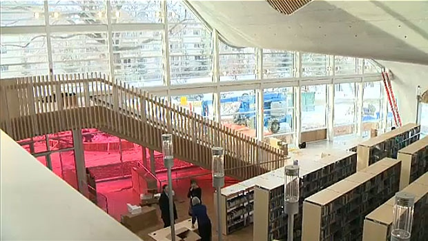 Jasper Place Public Library has been rebuilt and is set to reopen to the public on Feb. 25. Construction began on the library two years ago and it has since undergone extensive renovations.