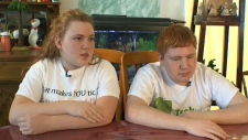 Amanda and Ryan Caruso, Tourette syndrome