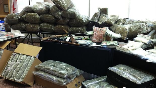 RCMP Marijuana seizure