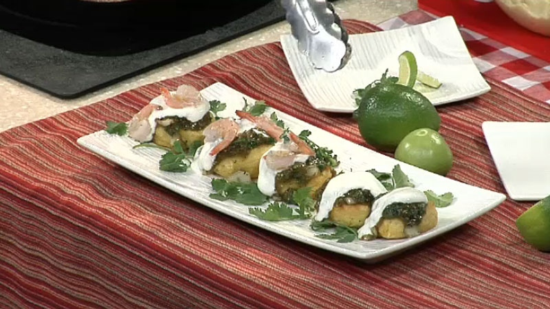 Arepas with Salsa Verde & Grilled Shrimp | CTV Edmonton News