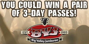 2013 Big Valley Jamboree Contest - Front