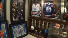 Shaun Chaulk's massive Wayne Gretzky memorabilia collection features jerseys, helmets, hockey sticks and more - all used at some point during the Great One's NHL career with the Oilers.