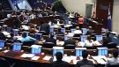 City council meets to debate the downtown casino issue in Toronto, Tuesday, May 21, 2013.