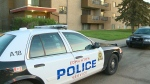 Police were on the scene of an early morning stabbing at a house party in the area of 115 Ave. and 124 St. Tuesday, May 21.
