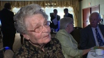 100-year-old Jessie Voaklander donated $2,500 to the Light the Bridge campaign, funding 100 bulbs to help outfit the High Level Bridge with lights.