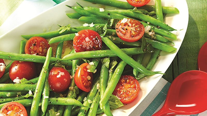 Green Bean And Cherry Tomato Salad Recipes — Dishmaps