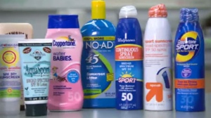 Consumer reports says some sunscreens don't keep sunburn at bay for as long as they promise.