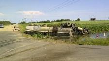 Lloydminster collision, July 27, 2013