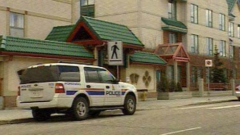 An elderly woman was assaulted in her suite at the Edmonton Chinese Seniors Lodge in May 2011.