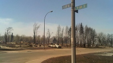 CTV News gets a closer look at the devastation in Slave lake after flames ripped through the town.